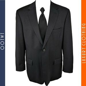 HUGO BOSS Pasolini 42R Smokey Dark Gray Sport Coat